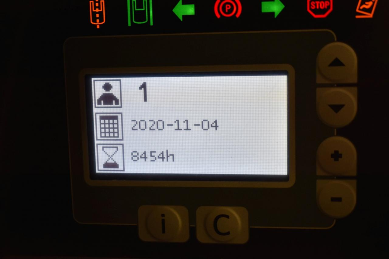 33380 BT RRE 160 E - AKU, Retrak, 2014, BP, Volný zdvih, Triplex