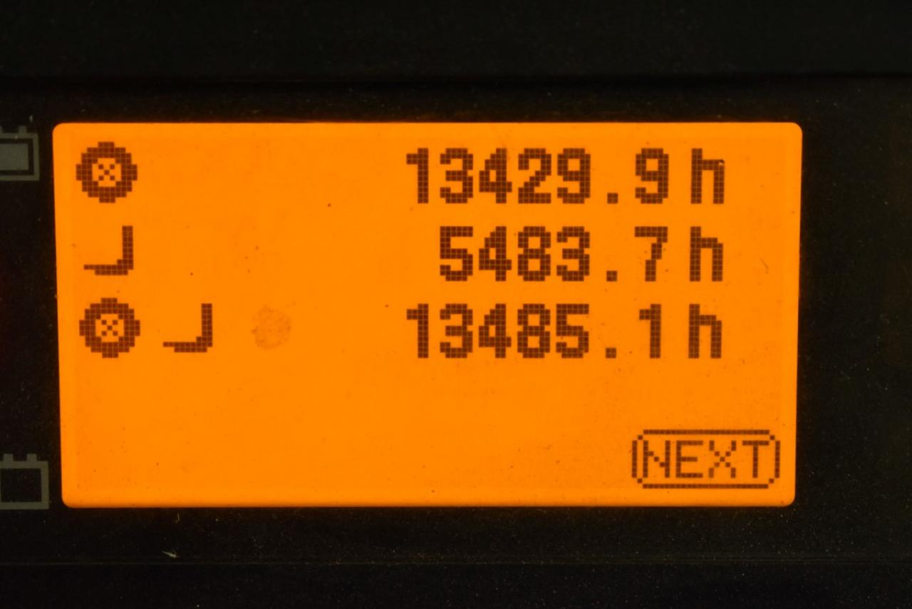 33385 TOYOTA 8FBMT20 - AKU, 2013, BP, Volný zdvih