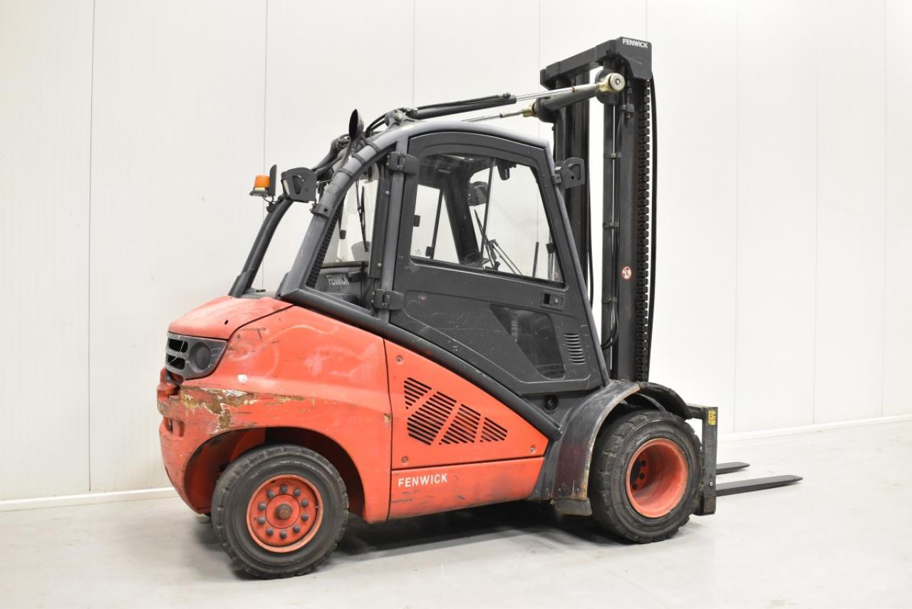 33388 LINDE H 45 D - Diesel, 2008, Kabina, BP+HSV