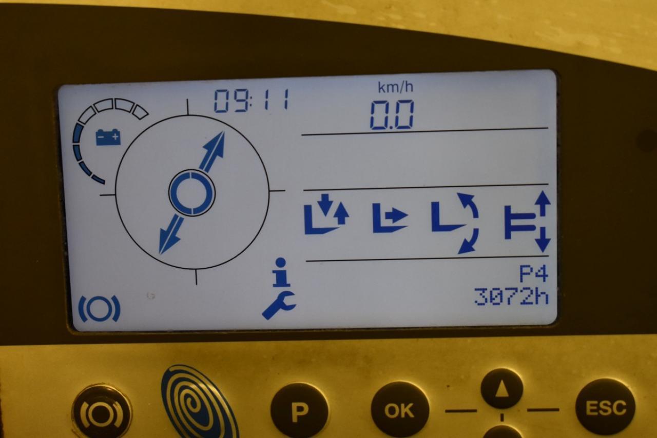 33391 STILL FM-X 25 - AKU, Retrak, 2014, BP, volný zdvih, Triplex, pouze 3072 mth