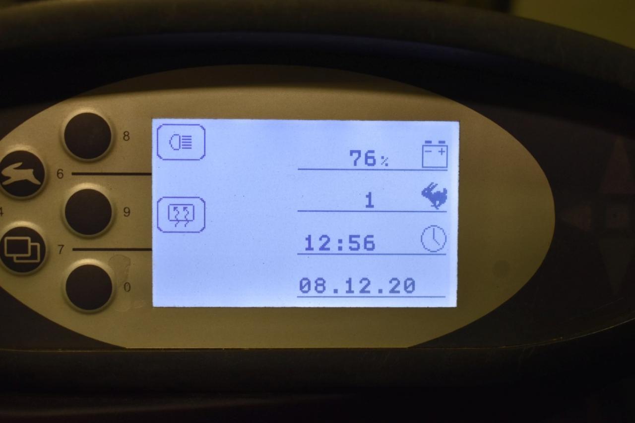 33407 STILL RX 60-20 - AKU, 2015, Kabina, BP, Volný zdvih, Triplex, pouze 3062 mth