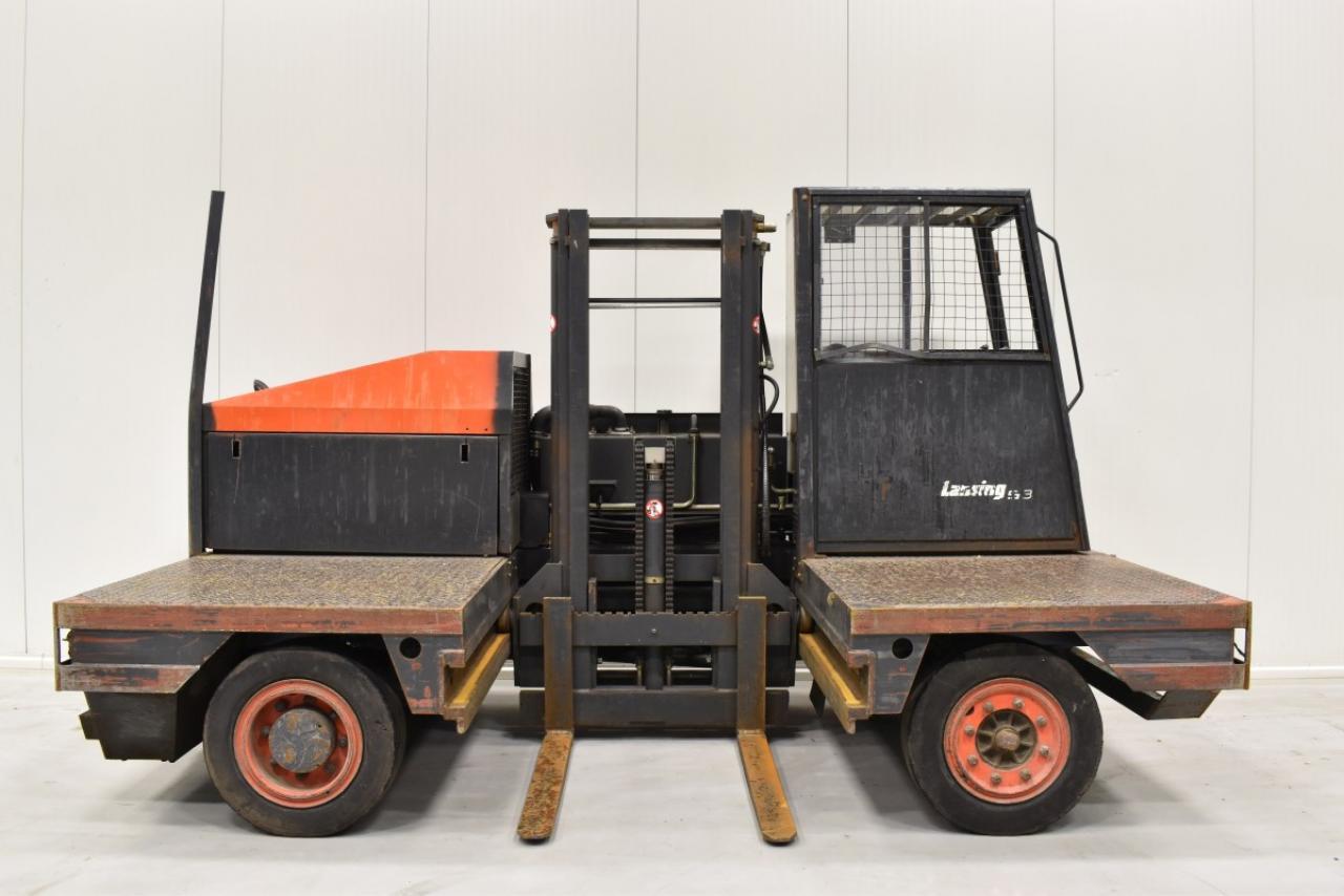 33413 LINDE S 30 - Diesel, 2003, volný zdvih