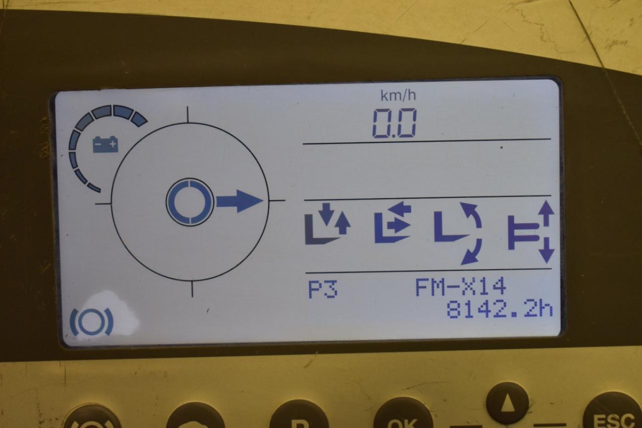 33461 STILL FM-X 14 - AKU, Retrak, 2010, BP, Volný zdvih, Triplex, BAT 2012