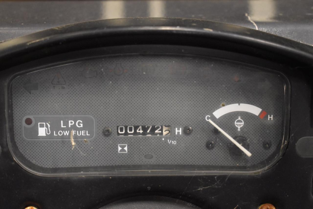 33475 SAMSUNG SF 25 L - LPG, 2000, Volný zdvih, Triplex, pouze 472 mth