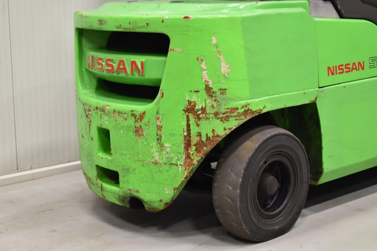 33496 NISSAN WG1F4A50 - Diesel, 2011, Cabin, SS+FP, Free lift, TRIPLEX