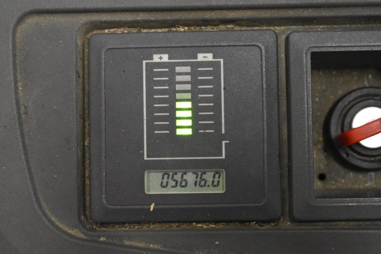 33511 JUNGHEINRICH ERC 212 Z - AKU, 2012, volný zdvih + přízdvih, pouze 5676 mth, BAT 2017