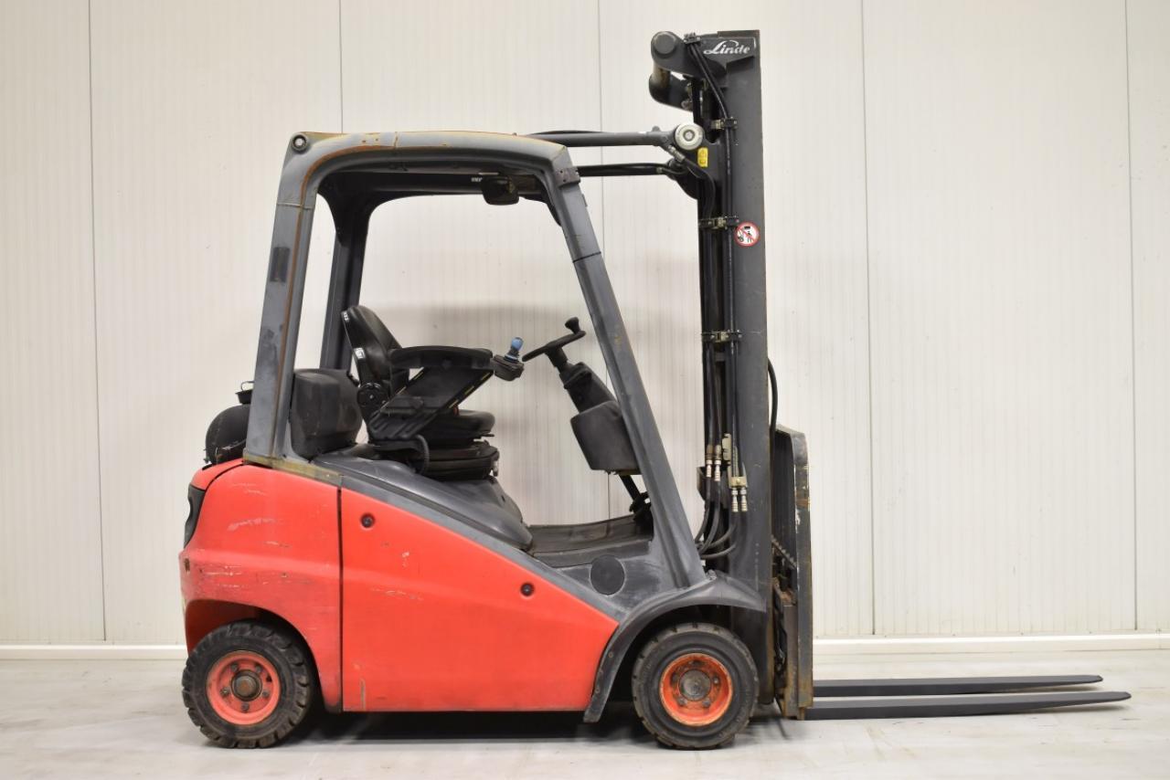 33515 LINDE H 18 T-01 - LPG, 2012, BP, Volný zdvih, Triplex
