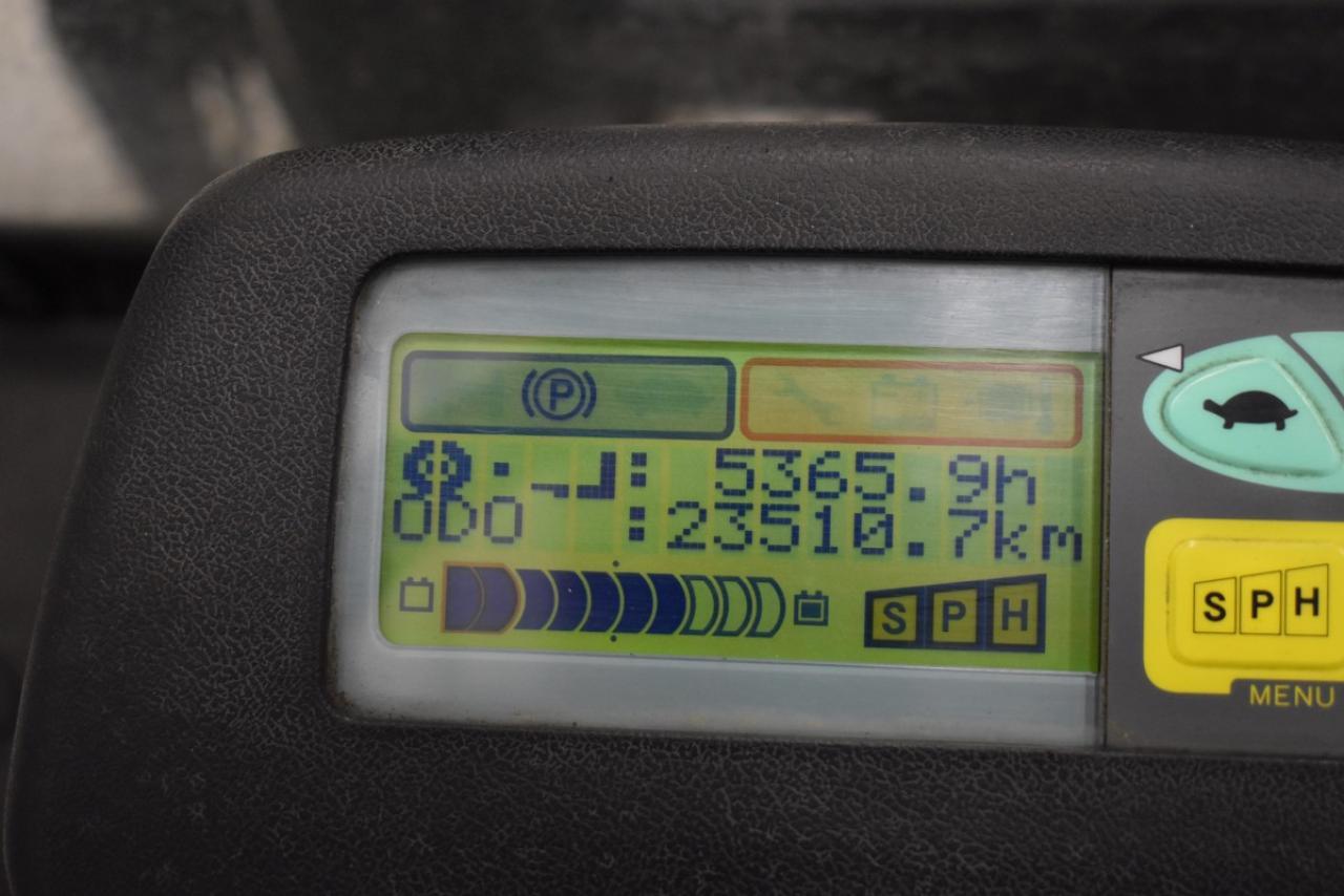 33524 TOYOTA 7FBEF18 - AKU, 2009, BP+HSV, volný zdvih, pouze 5365 mth, BAT 2015