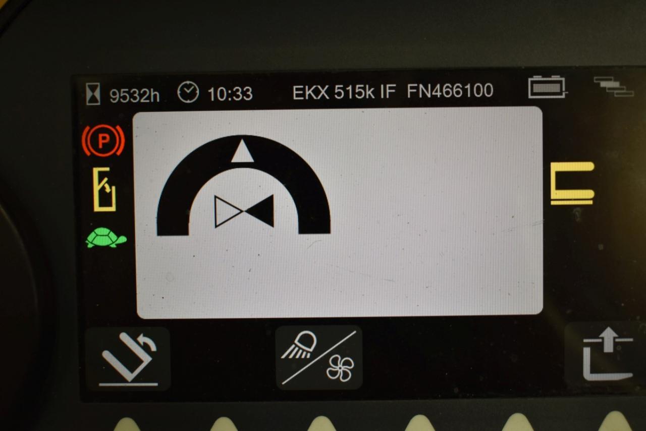 33527 JUNGHEINRICH EKX 515 K - AKU, 2014, volný zdvih, Triplex