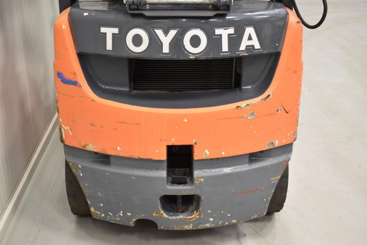 33541 TOYOTA 02-8FGF18 - LPG, 2008, BP, Volný zdvih, Triplex