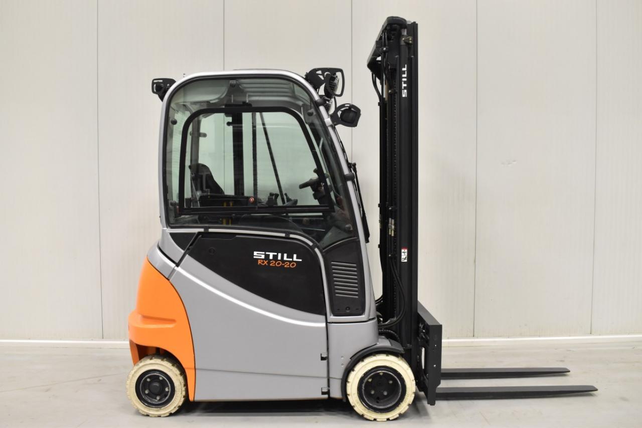 33565 STILL RX 20-20 P/H - AKU, 2014, Kabina, BP+HSV, Volný zdvih, Triplex