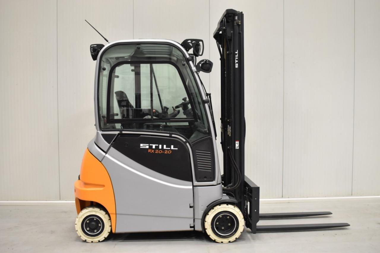 33570 STILL RX 20-20 P/H - AKU, 2014, Kabina, BP+HSV, volný zdvih, Triplex