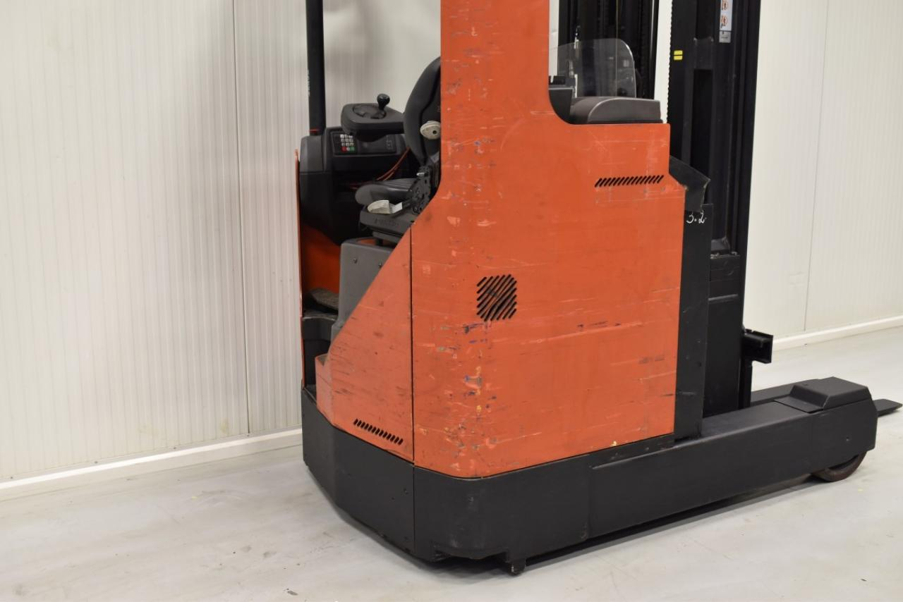 33589 BT RR B8 - Battery, Reach truck, 2008, SS, Free lift, TRIPLEX, only 12276 hrs