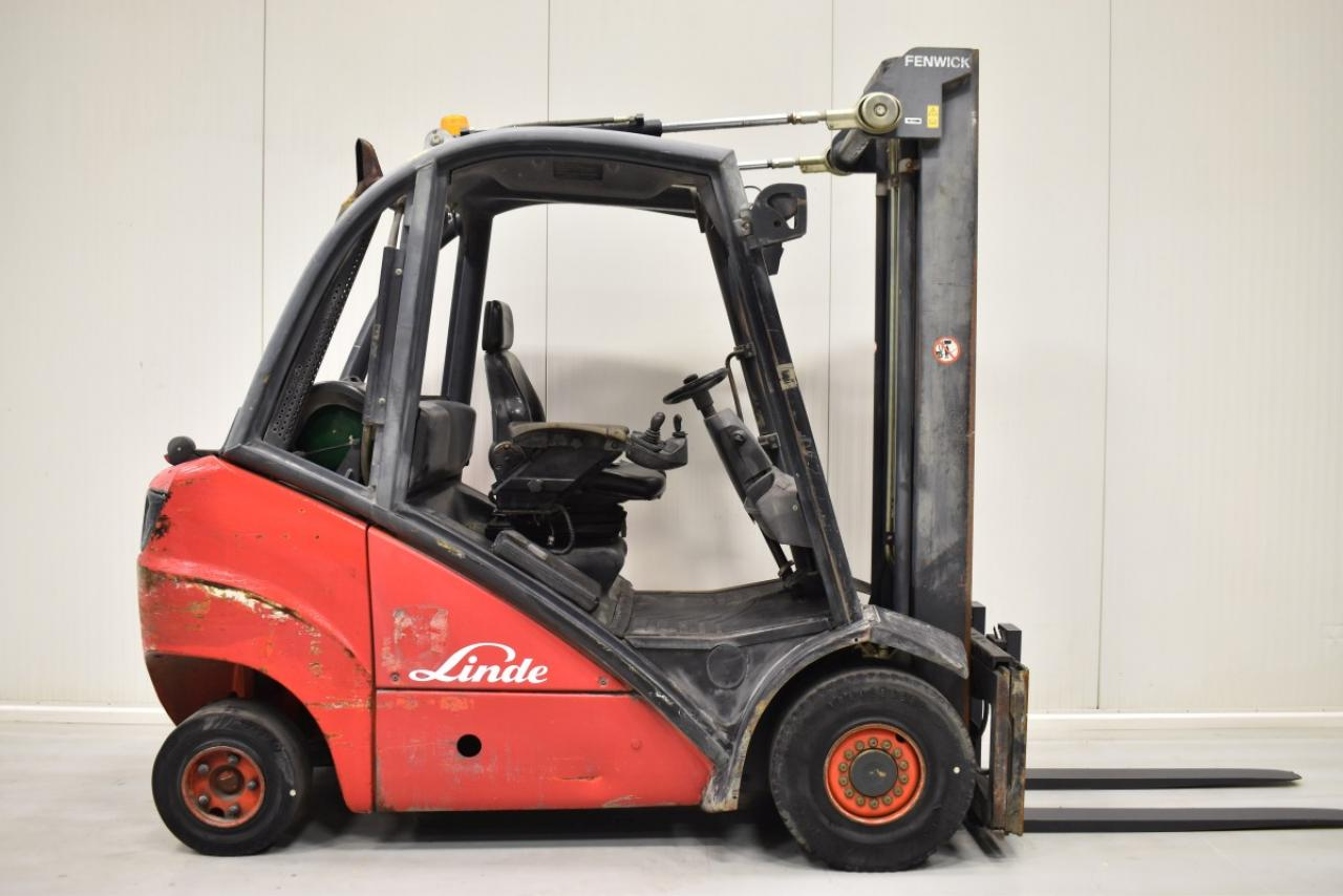 33598 LINDE H 25 T - LPG, 2005, BP, volný zdvih, Triplex