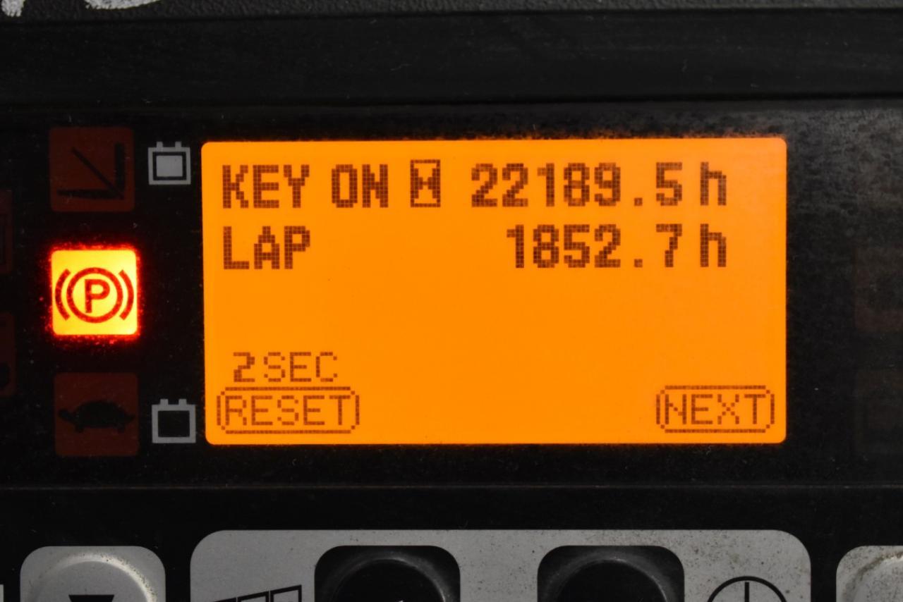 33625 TOYOTA 8FBMT18 - AKU, 2013, BP, Volný zdvih, Triplex, pouze 4296 mth