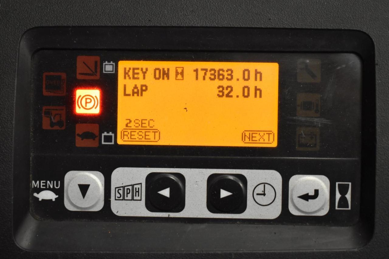 33632 TOYOTA 8FBET15 - AKU, 2015, BP, Volný zdvih, Triplex