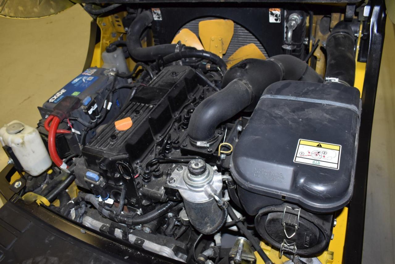33673 YALE GDP 25 VX - Diesel, 2012, polokabina, BP, Volný zdvih
