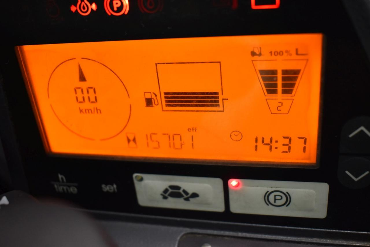 33712 JUNGHEINRICH DFG 430 S - Diesel, 2014, Kabina