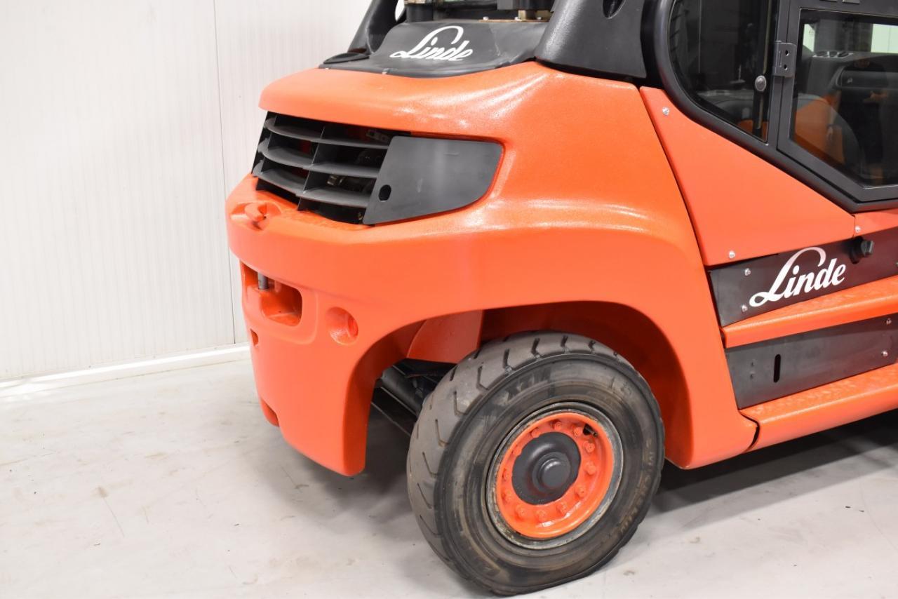 33763 LINDE H 60 D-02 - Diesel, 2015, Cabin