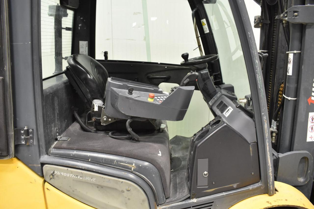 33764 JUNGHEINRICH DFG 430 s - Diesel, 2011, Cabin, SS+FP, Free lift, TRIPLEX