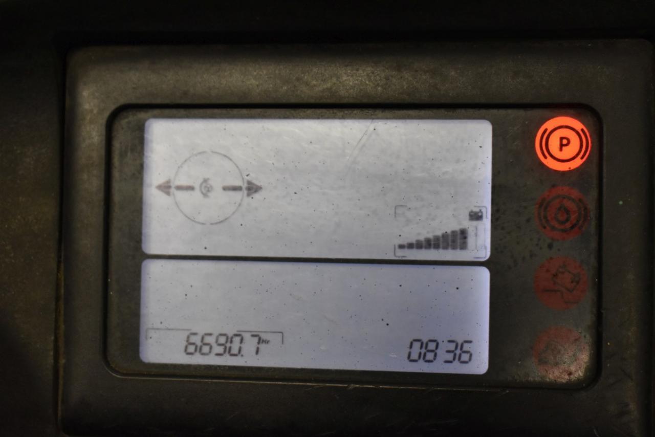 33804 LINDE R 20 G-12 - AKU, Retrak, 2010, BP, Volný zdvih, Triplex, pouze 6687 mth
