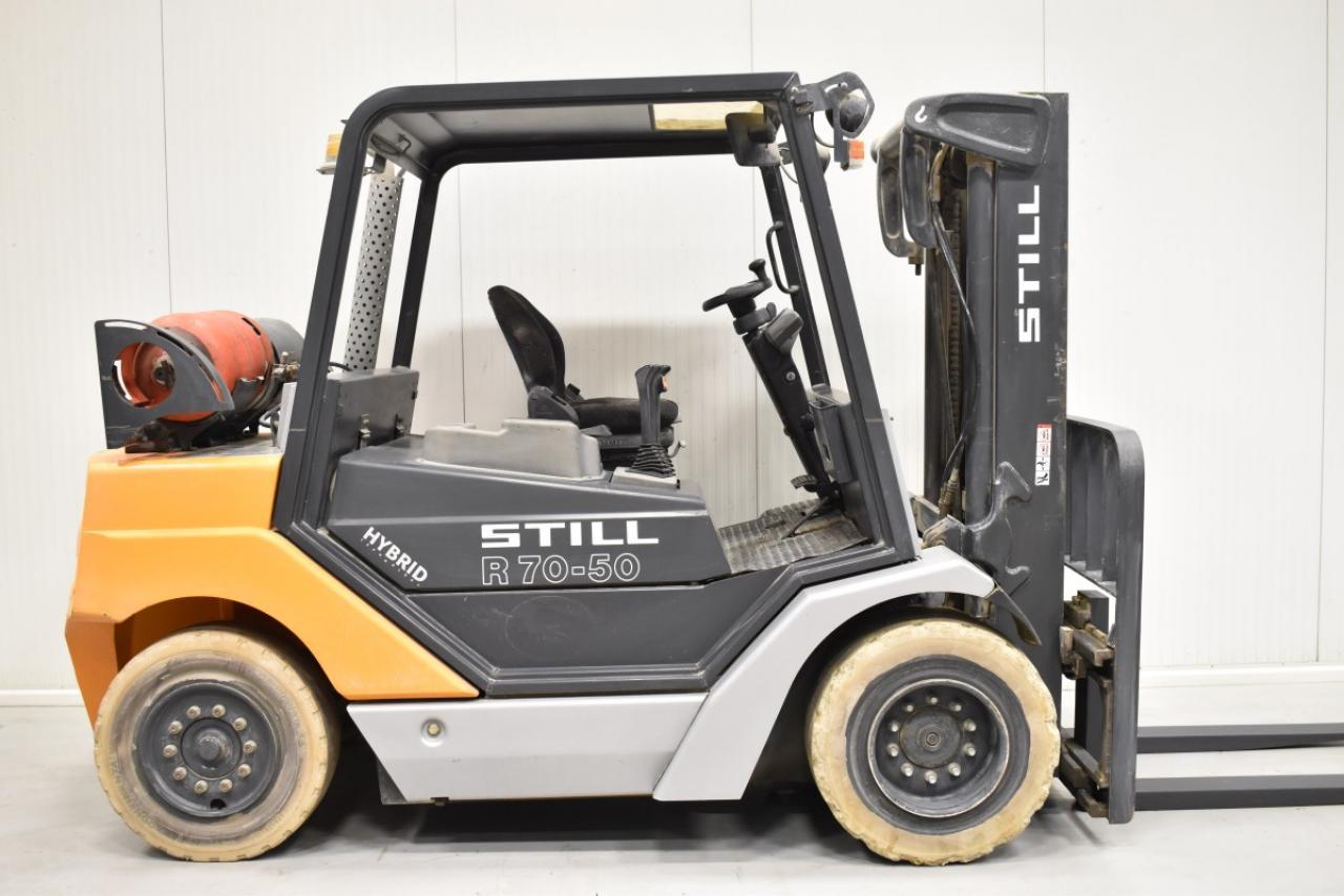 33807 STILL R 70-50 T - LPG, 2012, BP, Volný zdvih, Triplex, pouze 3811 mth