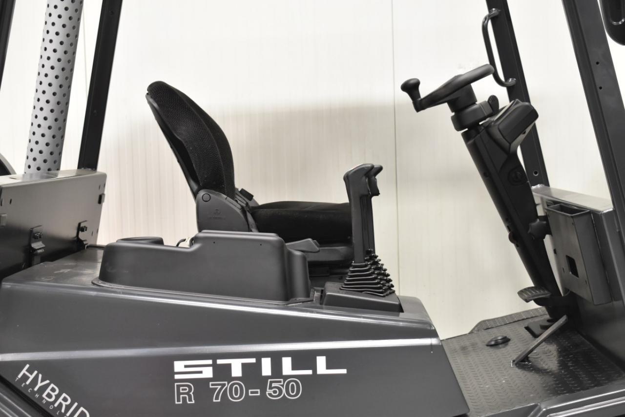 33808 STILL R 70-50 T - LPG, 2012, BP, Volný zdvih, Triplex, pouze 4306 mth