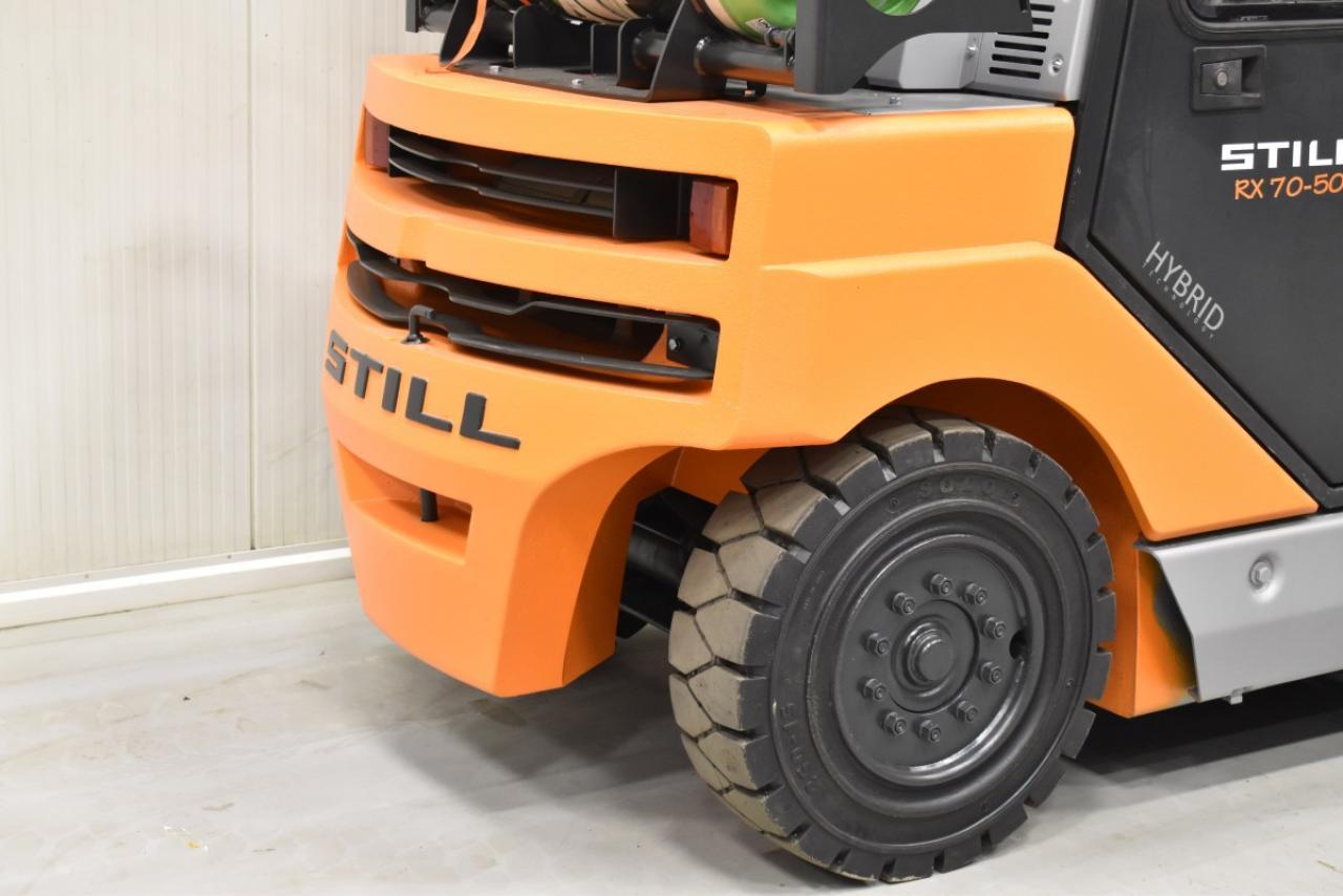 33809 STILL R 70-50 T - LPG, 2012, Cabin, SS, Free lift, TRIPLEX