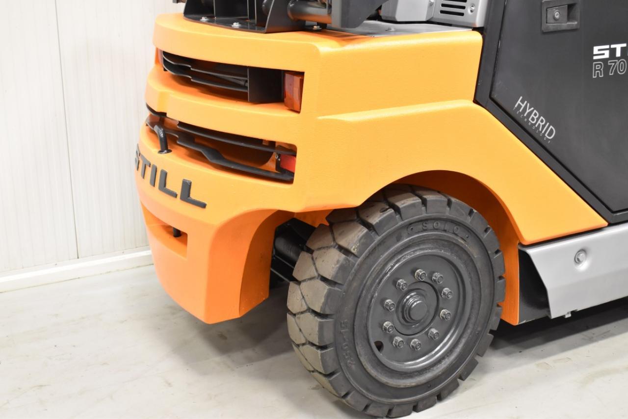 33810 STILL R 70-50 T - LPG, 2012, Kabina, BP, Volný zdvih, Triplex