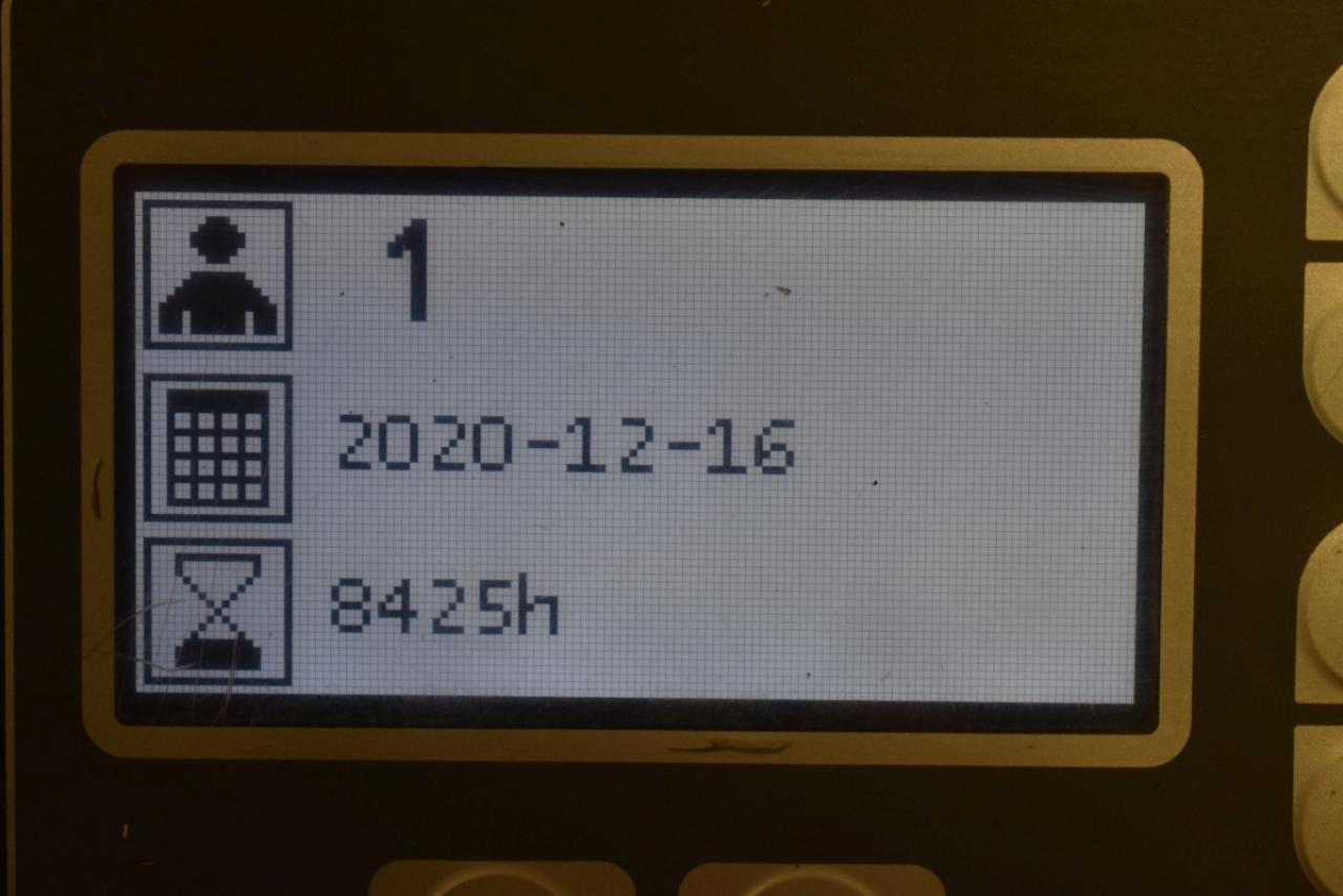 33813 BT RRE 160 - AKU, Retrak, 2009, BP, Volný zdvih, Triplex