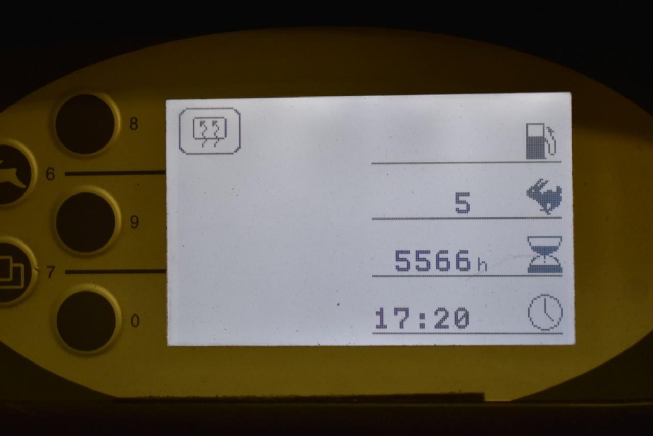 33821 STILL RX 70-35 T - LPG, 2010, Kabina, BP, Volný zdvih, Triplex, pouze 5564 mth