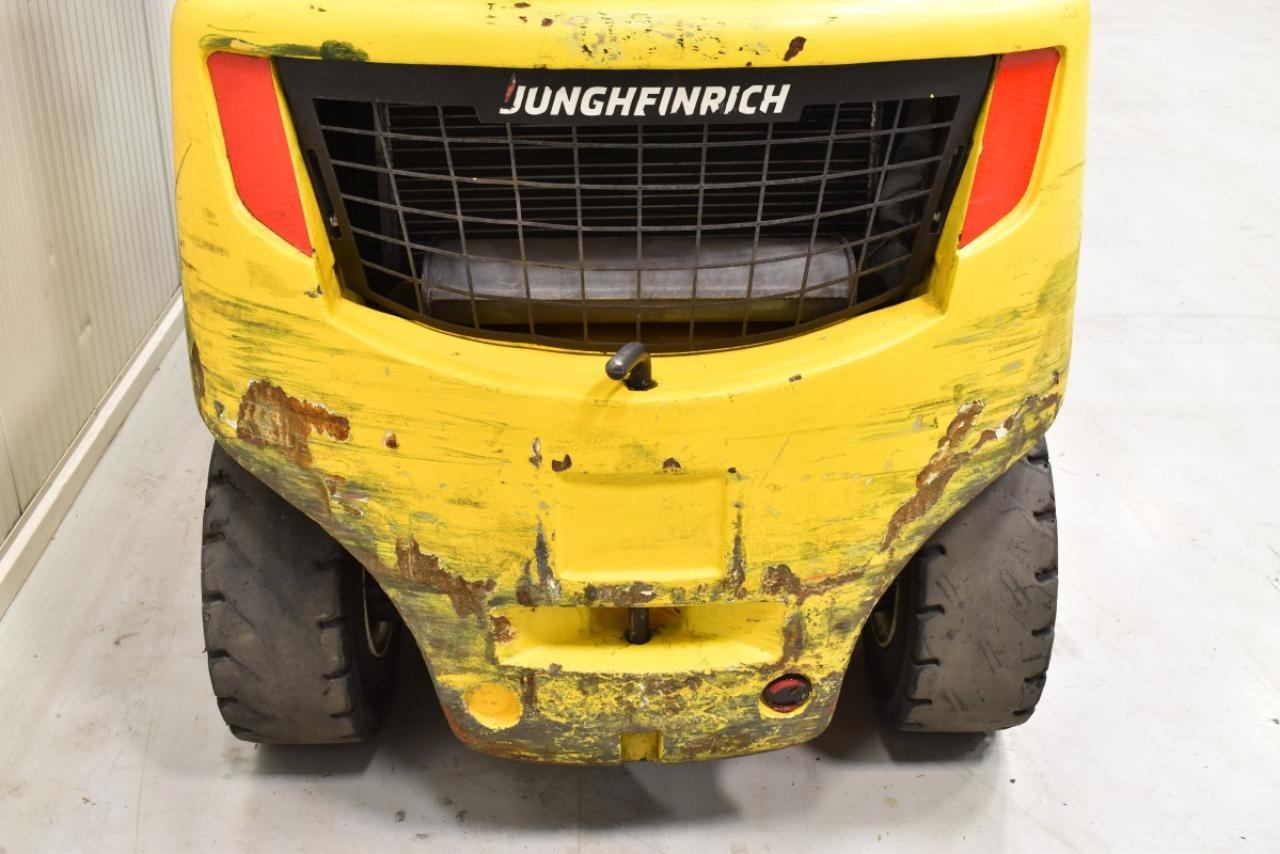 33834 JUNGHEINRICH TFG 430 S - LPG, 2013, zvýšená kabina, BP, Volný zdvih, Triplex