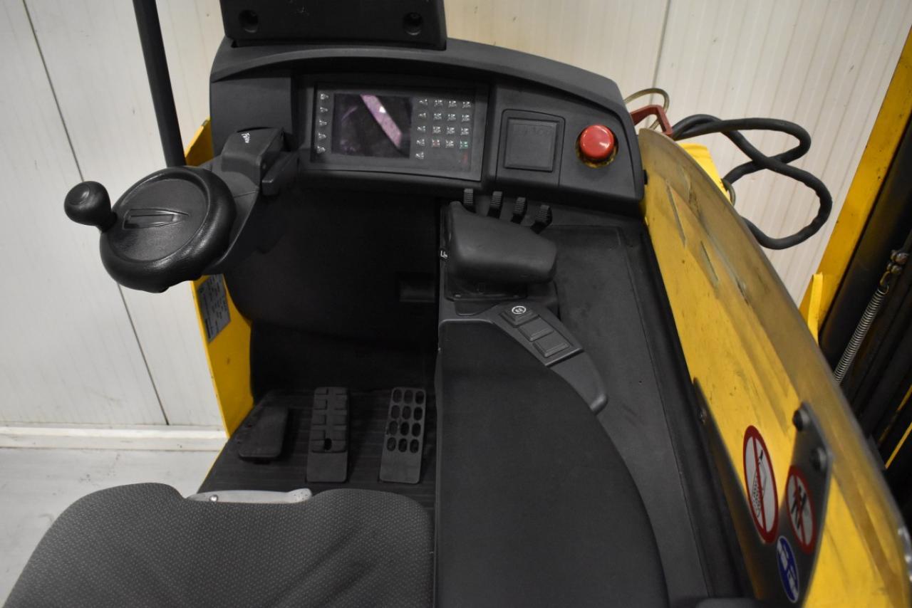 33848 JUNGHEINRICH ETV 216 - Battery, Reach truck, 2011, SS, Free lift, TRIPLEX