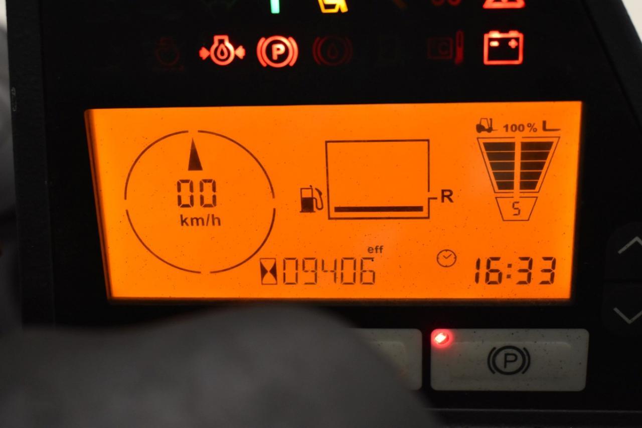 33854 JUNGHEINRICH TFG 430 S - LPG, 2014, zvýšená kabina, BP, Volný zdvih, Triplex