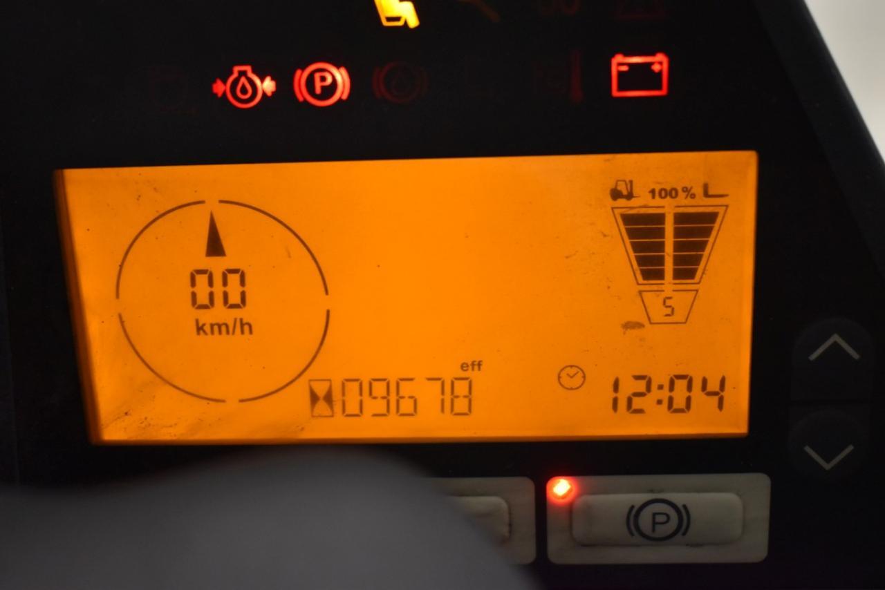 33859 JUNGHEINRICH TFG 550 S - LPG, 2012, BP
