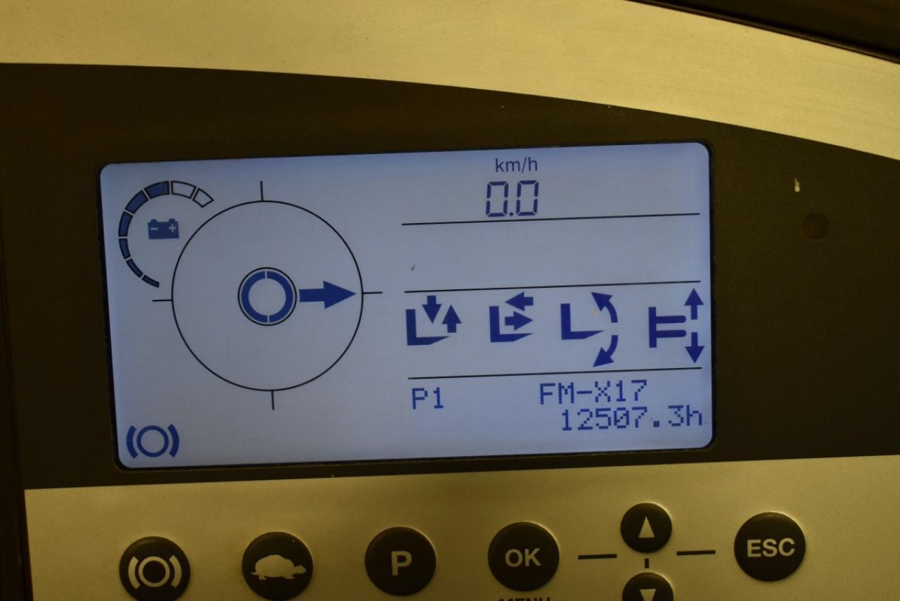 33877 STILL FM-X 17 - AKU, Retrak, 2013, BP, Volný zdvih, Triplex