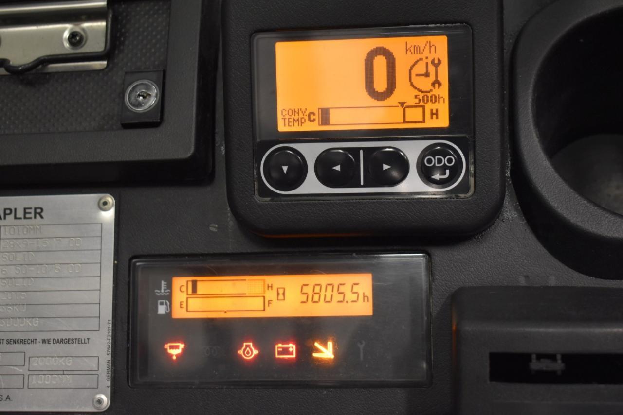 33931 TOYOTA 02-8FDF30 - Diesel, 2015, Kabina, HSV, pouze 5805 mth