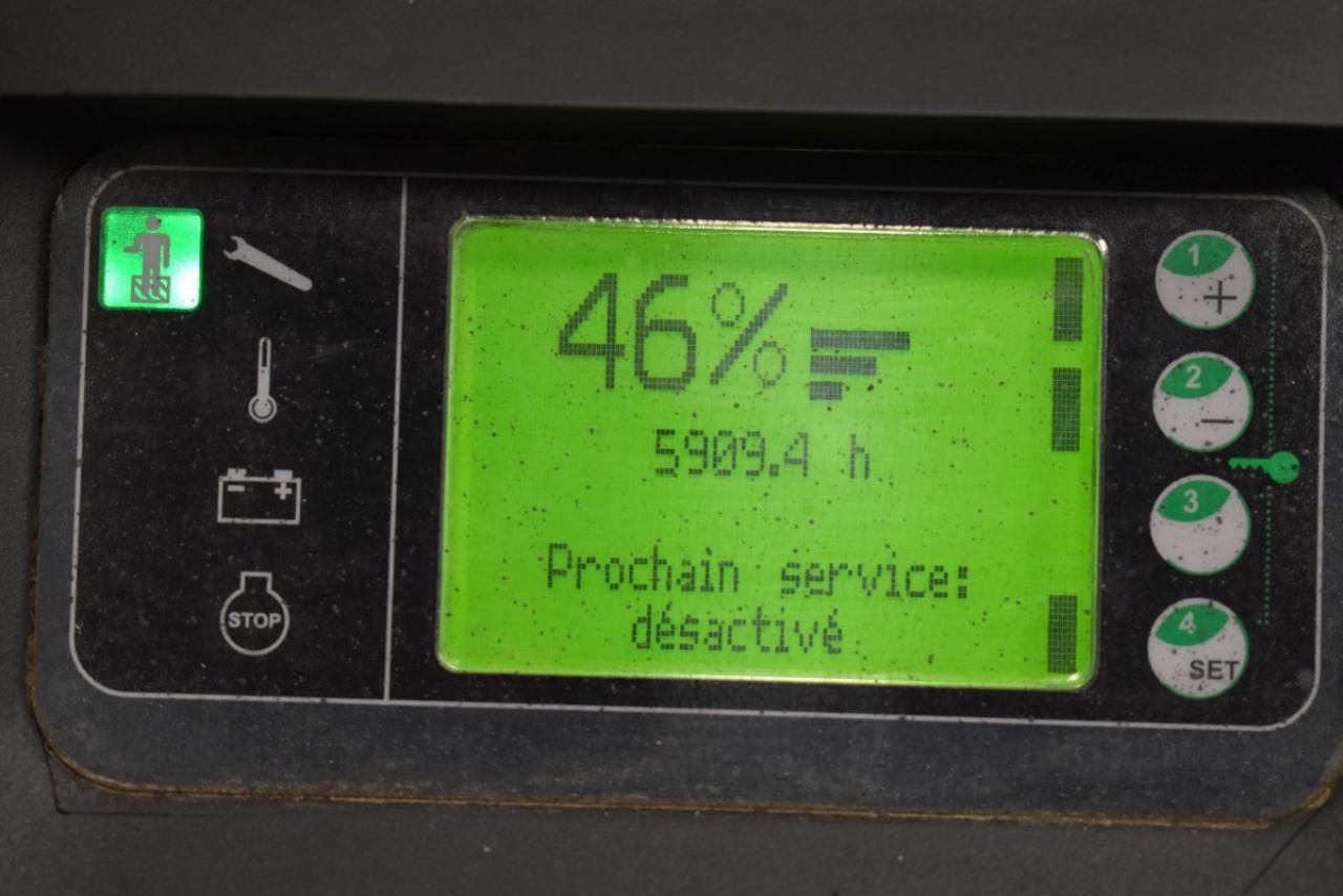 33944 LINDE L 12 L AP - AKU, 2013, přízdvih, pouze 5908 mth
