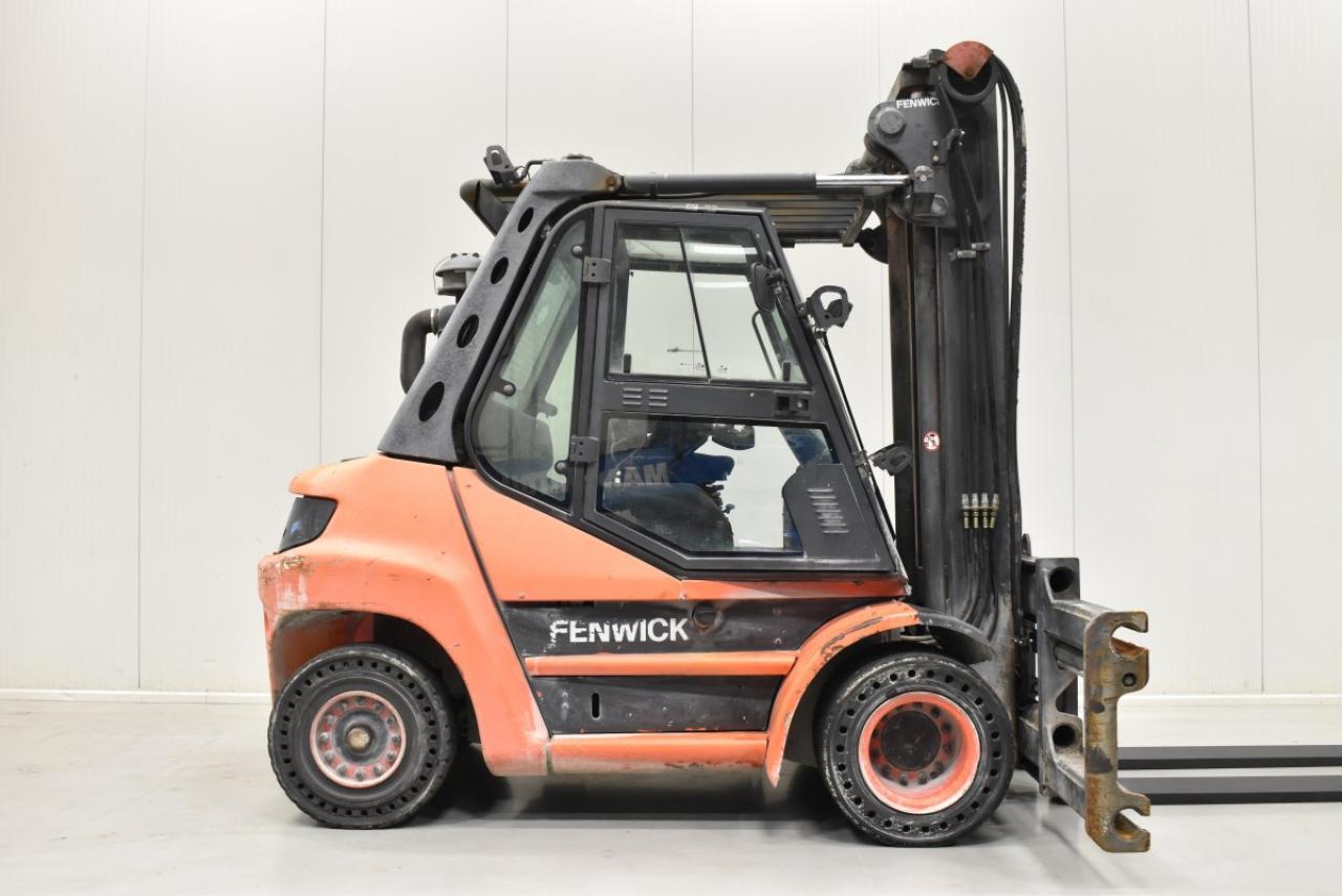 33968 LINDE H 70 D-01 - Diesel, 2011, polokabina, BP+HSV
