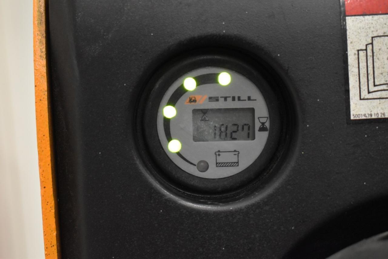 33998 STILL EGV 16 I - AKU, 2012, přízdvih, pouze 1827 mth