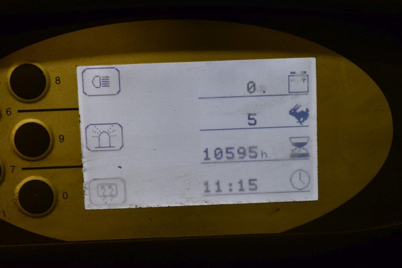 34000 STILL RX 60-30 - AKU, 2012, Kabina, BP+HSV, Volný zdvih, Triplex