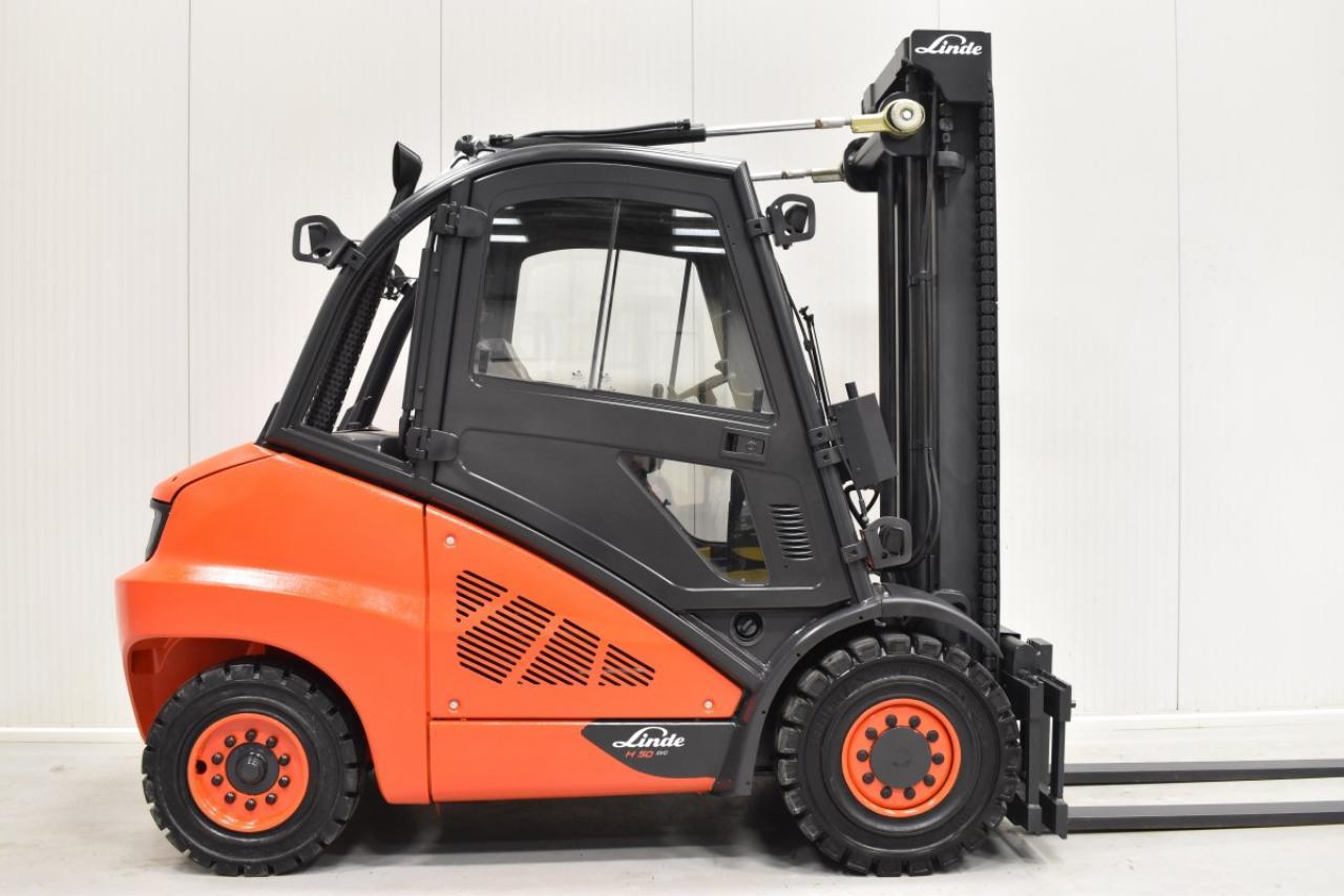 34040 LINDE H 50 D-02 - Diesel, 2014, Kabina, BP