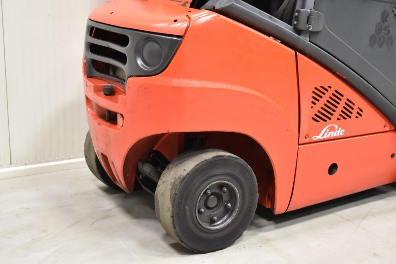 34048 LINDE H 25 T-01 - LPG, 2011, Kabina, BP, Volný zdvih