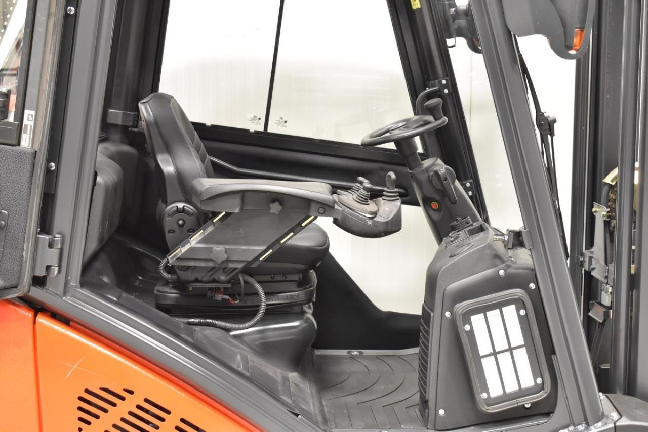 34052 LINDE H 25 T-01 - LPG, 2011, Kabina, BP, Volný zdvih