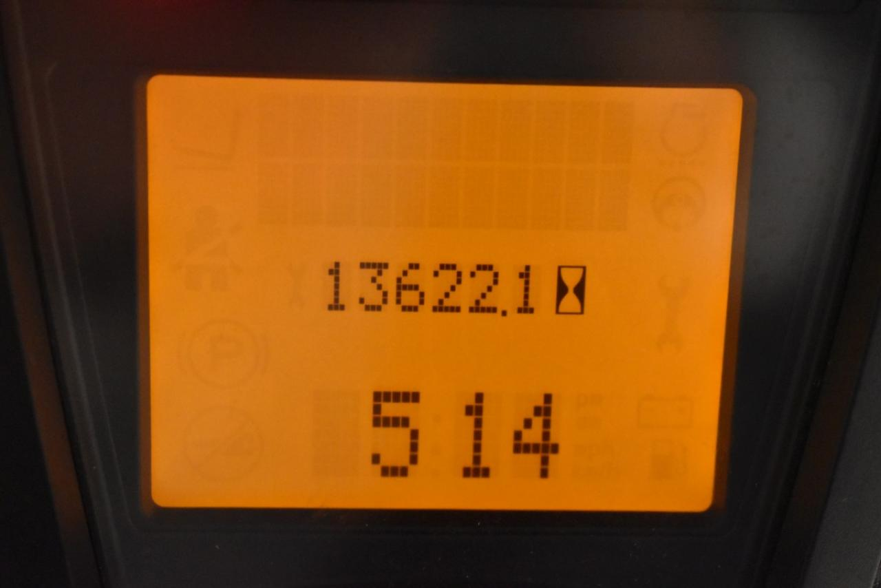 34054 LINDE H 25 T-01 - LPG, 2012, Kabina, BP, Volný zdvih