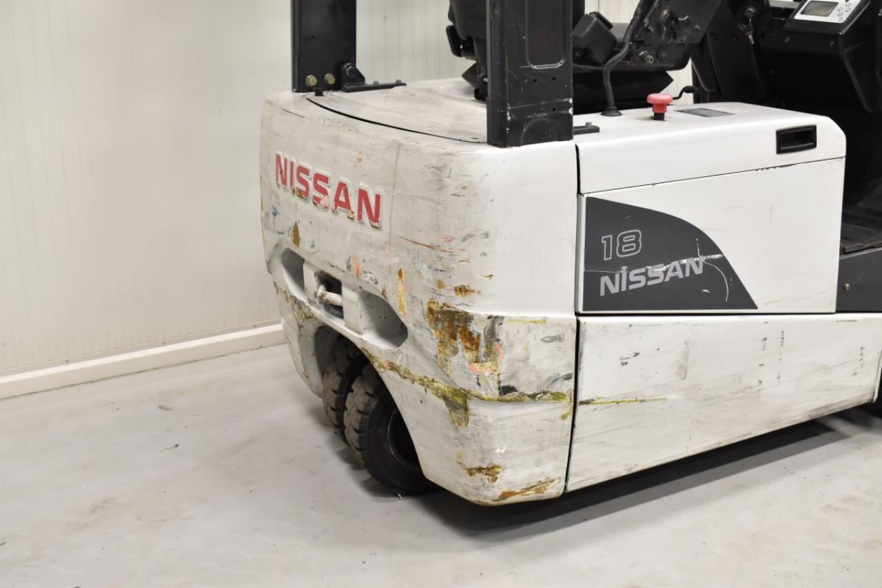 34065 NISSAN G1N1L18Q - Battery, 2006, SS, Free lift, TRIPLEX, only 4227 hrs, BATT 2015