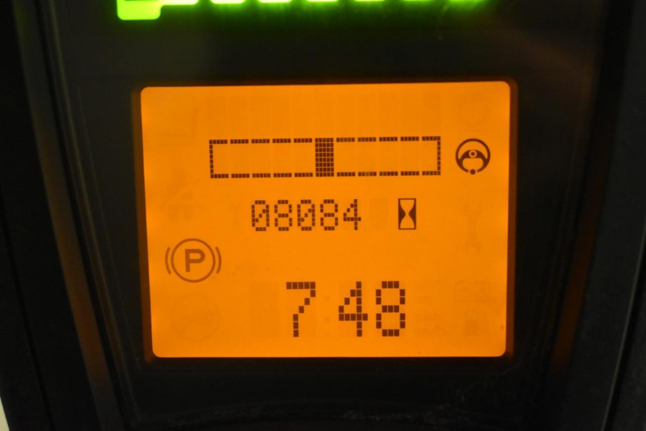 34094 LINDE E 20 L-02 - AKU, 2015, BP, Volný zdvih