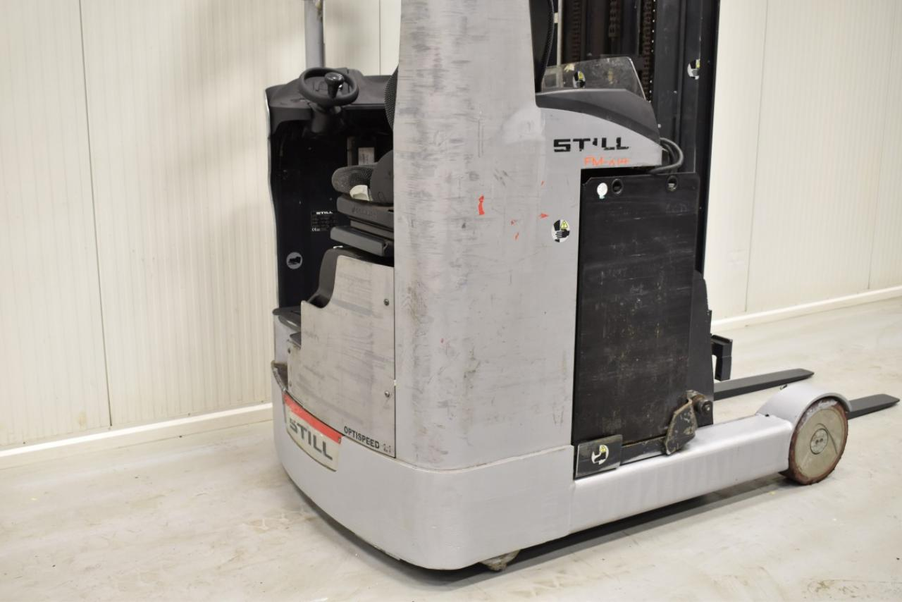34110 STILL FM-X 14 - Battery, Reach truck, 2012, SS, Free lift, TRIPLEX, only 6504 hrs