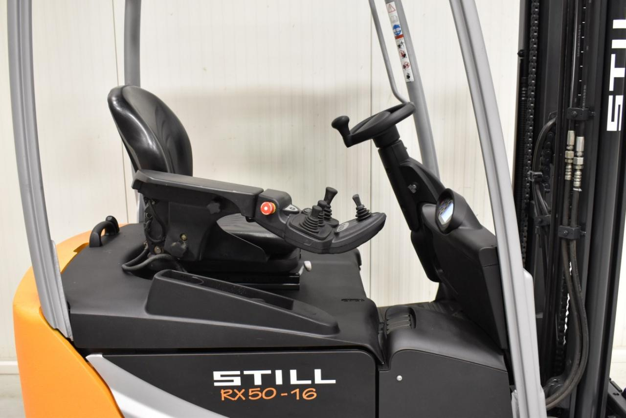 34115 STILL RX 50-16 - AKU, 2015, BP, Volný zdvih, Triplex