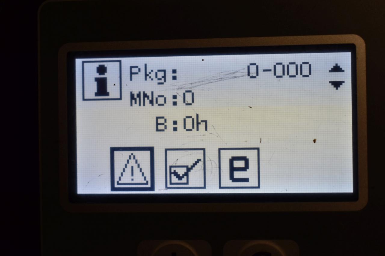 34169 BT RRE 200 - AKU, Retrak, 2016, BP, Volný zdvih, Triplex, pouze 5388 mth
